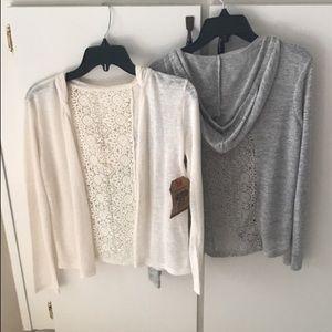 Sweaters - Girls Lightweight Sweaters